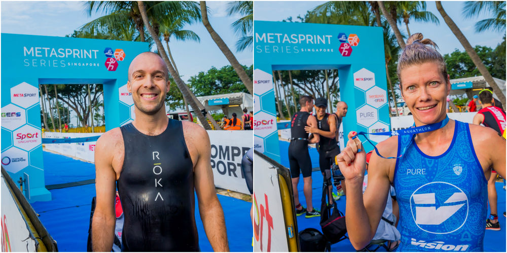 MetaSprint Aquathlon 2018 report
